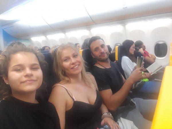 Jazykový pobyt Malta na vlastnej koži, v lietadle.
