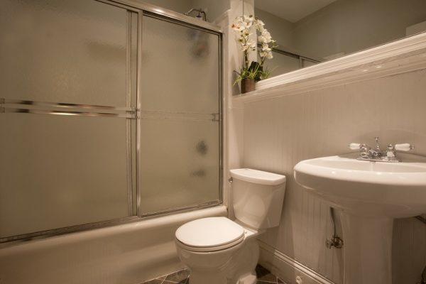 Kúpeľňa v rezidencii v Bostone