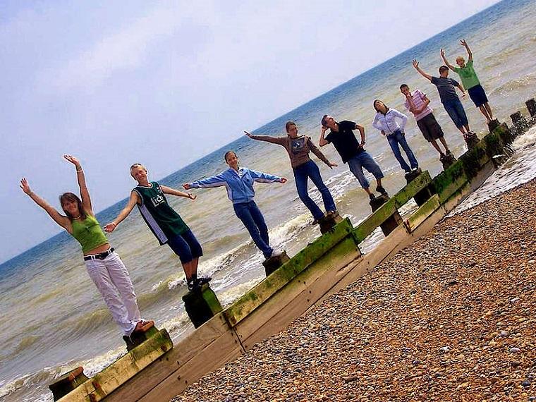 Študenti v Eastbourne