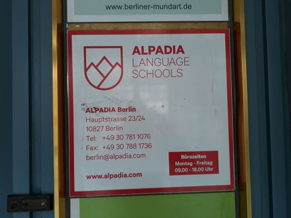 Medzinárodná Jazyková Agentúra navštívila Alpadia Language Schools v Berlíne.
