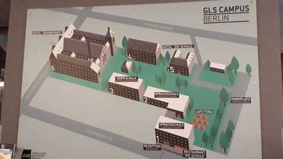 Medzinárodná Jazyková Agentúra navštívila, campus v GLS German Language School v Berlíne.