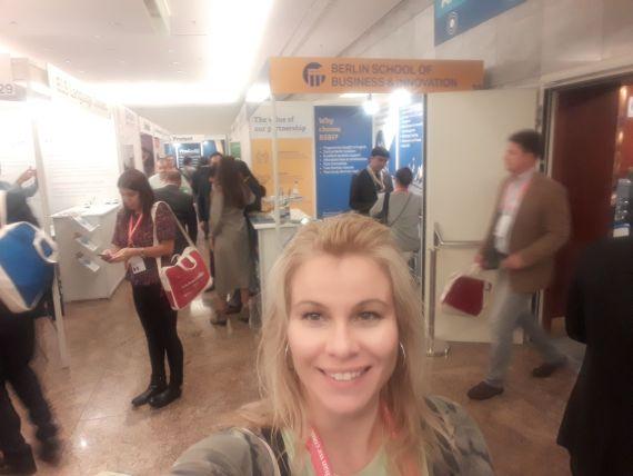 Medzinárodná Jazyková Agentúra na konferencii v Berlíne.
