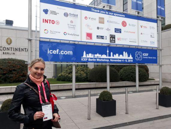 Medzinárodná Jazyková Agentúra na ICEF Berlín Workshop 2018.