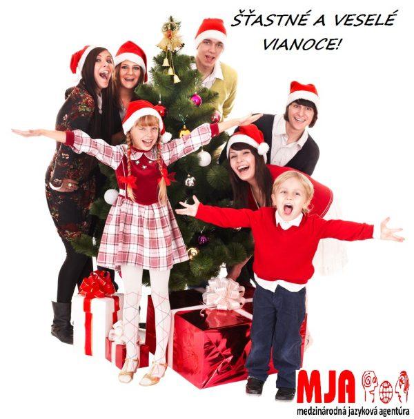 Vianočná darčeková poukážka na jazykový pobyt pre deti a mládež
