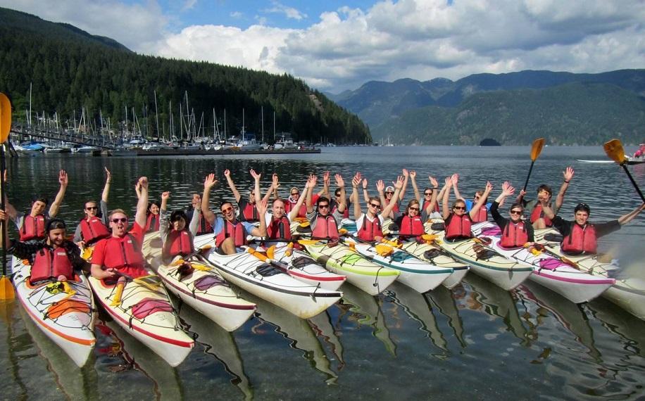 Vybavenie školy Global Village vo Vancouveri