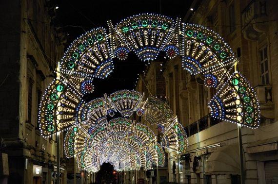 Vianoce na jazykovom pobyte na Malte.