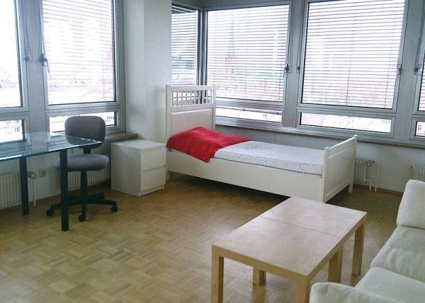 Ubytovanie v hoteli na jazykovom pobyte vo Frankfurte