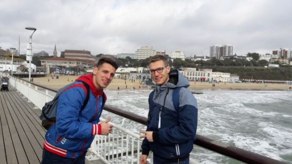 V Bournemouth na jazykovom pobyte som si našiel kamarátov.