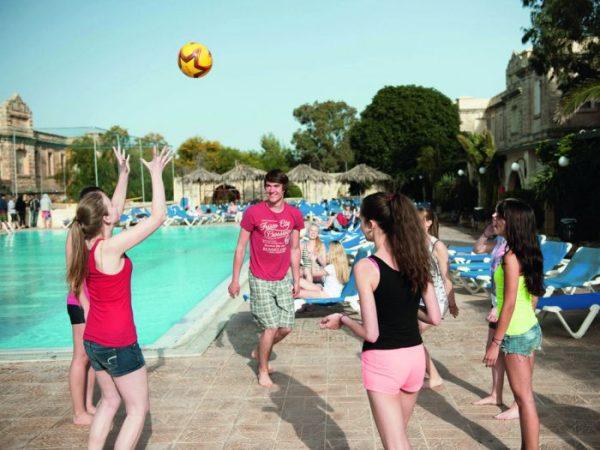 Na jazykovom pobyte sa môžete ubytovať v campuse, napríklad na Malte.