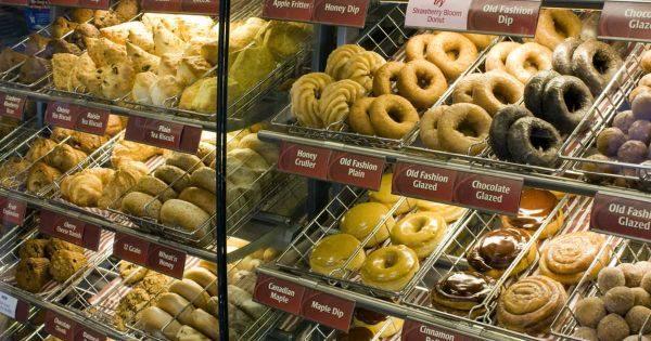 Obľúbené kanadské donuts.