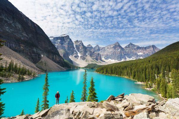 Národný park Banff v Kanade.