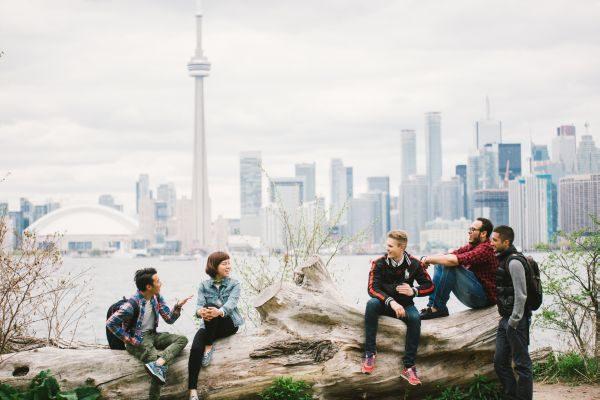 Kanadskí teenageri sú vysoko vzdelaní.
