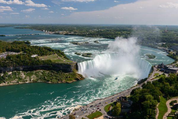 Úžasné prírodné scenérie v Kanade.