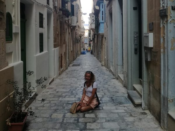 Prechádzka mestom na jazykovo pobyte na Malte