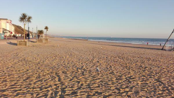 Krásne piesočné pláže na jazykovom pobyte v Bournemouth