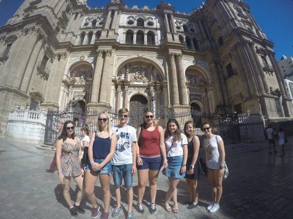 Stredoškoláci spoznávajú Španielsko.
