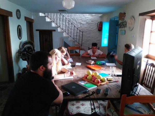 Ubytovanie v hostiteľskej rodine v Andalúzii