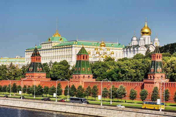 10 faktov o Rusku - Ruský Kremeľ